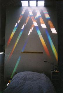 Prism - Solar Spectrum light art , residential, by Peter Erskine